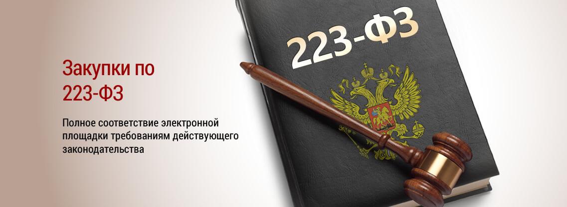 ФЗ-223 О ГОСЗАКУПКАХ ПОСЛЕДНЯЯ РЕДАКЦИЯ 2016 СКАЧАТЬ БЕСПЛАТНО